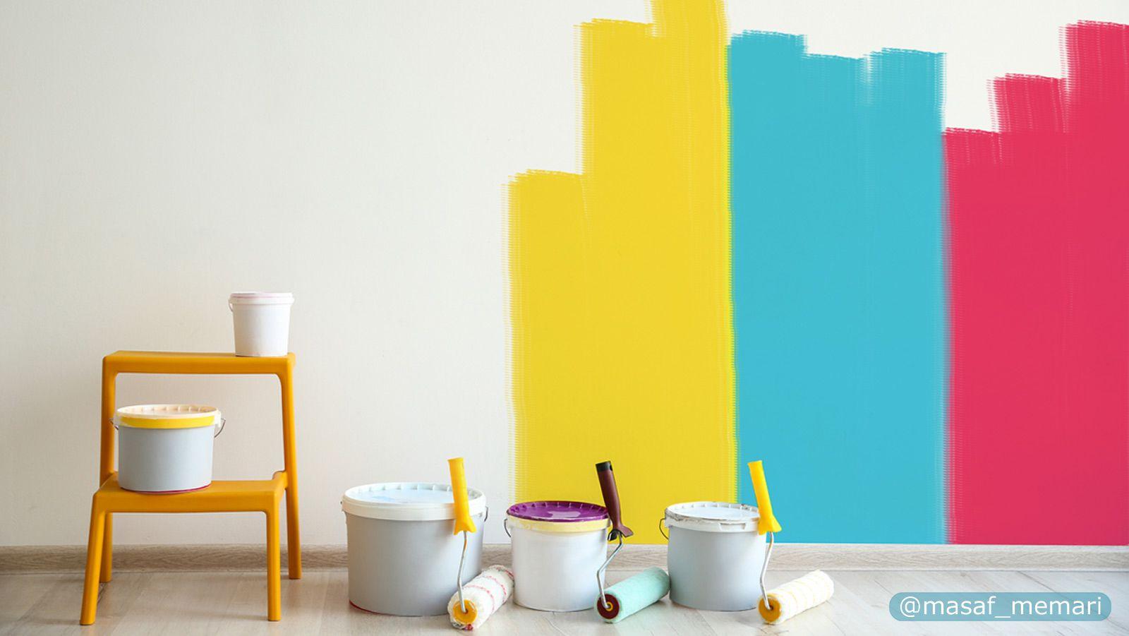 تخمین مقدار مورد نیاز رنگ برای پوشش دیوار
