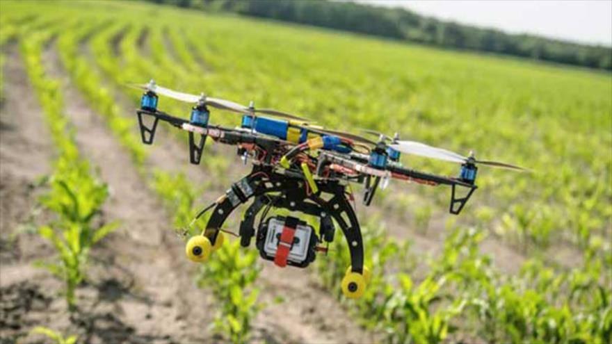 پهپادها و کشاورزی هوشمند
