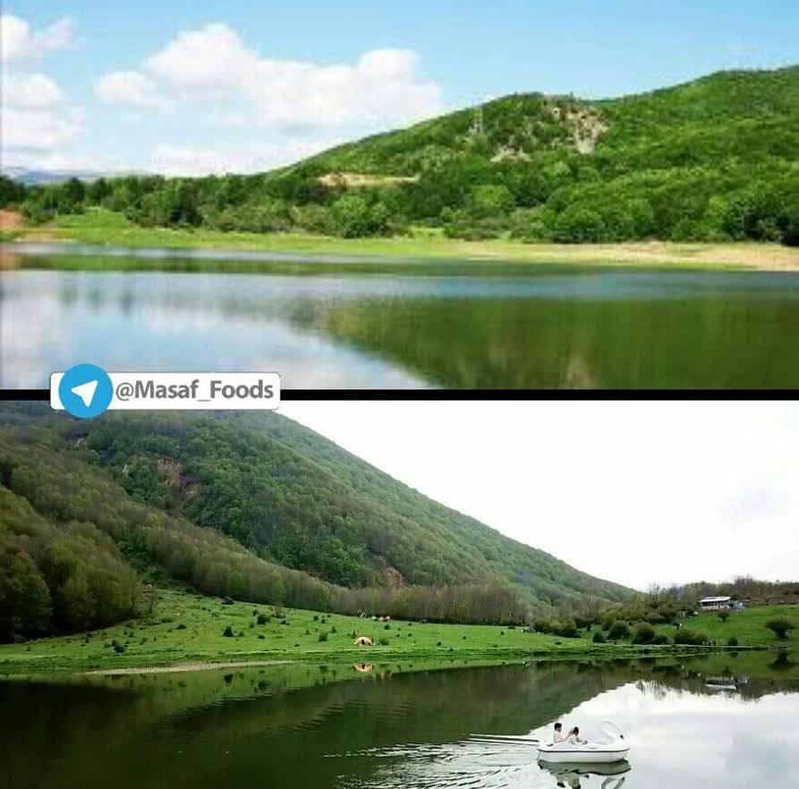 دریاچه ویستان رودبار
