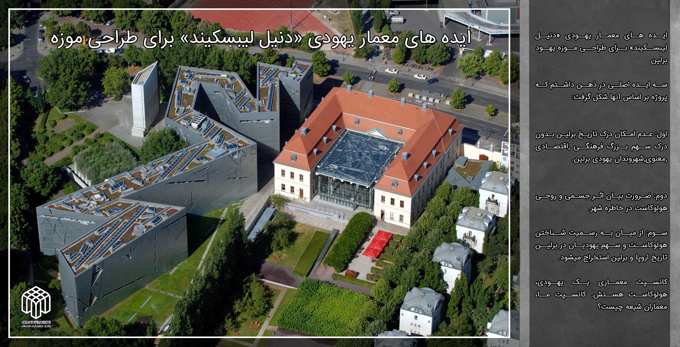 ایده های معمار یهودی «دنیل لیبسکیند» برای طراحی موزه یهود برلین
