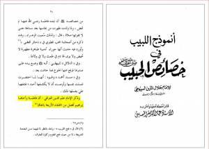 نظر اهل سنت در مورد حضرت زهرا سلام الله