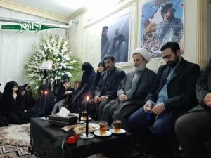 دیدار از خانواده شهید مدافع حرم سید محمد جعفر حسینی