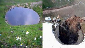 جویندگان گنج در ترکیه دریاچه نادر ۱۲ هزار ساله را خشکاندند