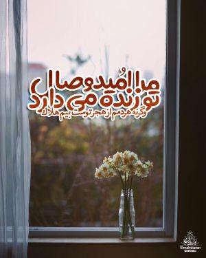 مرا امید وصال تو زنده می دارد / وگرنه هر دَمَم از هجر توست بیم هلاک