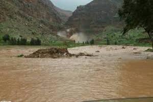 روستاهای جازموریان زیر آب رفت
