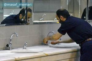 ادغام وضوخانه و سرویس بهداشتی در مساجد | معماری مساجد اسلامی