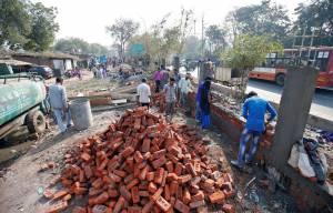 احداث دیوار در هند بخاطر ترامپ   شهرسازی