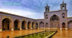سلسله مراتب حرکت در فرم معماری مساجد مسلمین