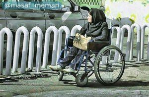 حذف موانع فلزی پیادهروهای پایتخت برای تسهیل تردد معلولان
