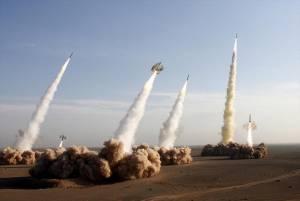 حمله موشکی ایران به پایگاه های نظامی آمریکا