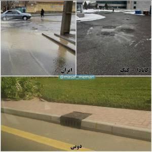 جمعآوری آبهای سطحی | شهرسازی