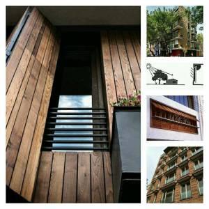 تفاوت ایجاد سایه از درون و بیرون ساختمان