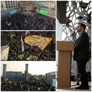 گزارش تصویری اجتماع عظیم مردمی عید بیعت در سراسر ایران
