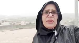 گزارش صداوسیما از آخرین وضعیت وقوع سیل احتمالی در پلدختر