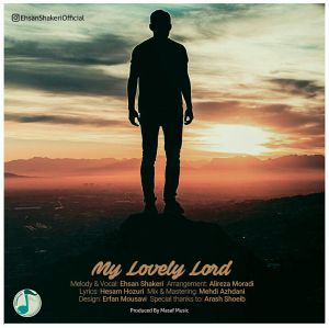 آهنگ پروردگار دوست داشتنی من احسان شاکری
