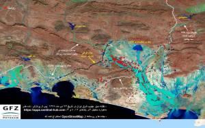 رسوب هایی که در مخازن سدهای سیستان و بلوچستان جمع میشوند.