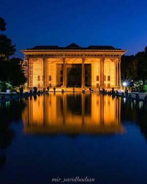 کاخ چهل ستون | اصفهان