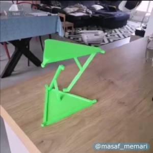 پایداری این سازه ساخته شده با چاپگر سه بعدی دیدنیه