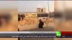 شهادت زن فلسطینی