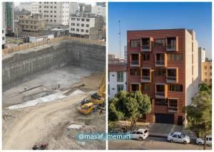 مراحل ساخت ساختمان | معماری معاصر
