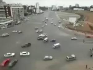 در اتیوپی چراغ قرمز ندارند!