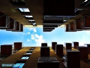 ایجاد مزاحمت ساختمانهای بلند در تهویه مطلوب ابنیه مجاور | معماری معاصر