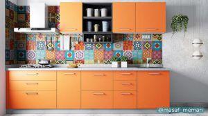 رنگی گرم و اشتها آور برای طراحی آشپزخانه