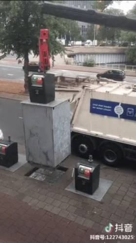 ایده ای ساده برای پاک نگه داشتن شهر از زباله ها.