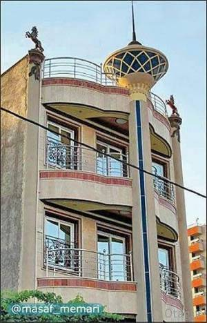 برج میلاد شخصی | معماری معاصر