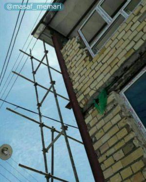 عدم رعايت حريم خطوط برق