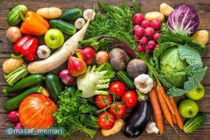 میوه و سبزی در قرون وسطی