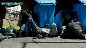 بحران بی خانمانی در آمریکا