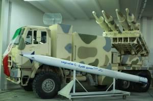 راکت های فجر 5 سپاه در قشم